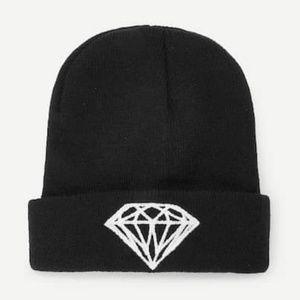 Diamond Beanie Hat